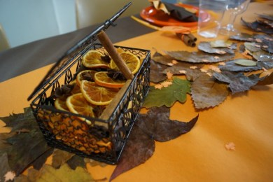 panier oranges séchées