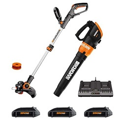 Worx Cordless Trimmer, Best Battery Powered Weed Eater
