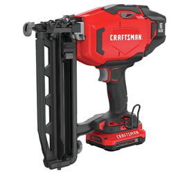 CRAFTSMAN Cordless Finish Nailer Kit