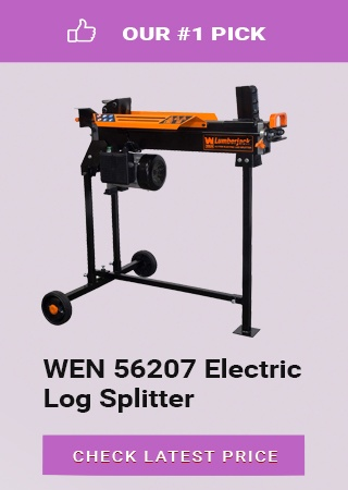 WEN Electric Log Splitter, top rated log splitters