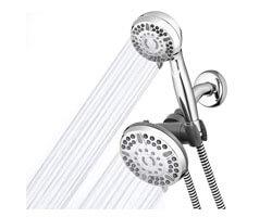 waterpik shower head, best dual rainfall shower head