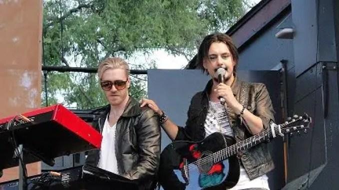 Micke Haglund och Jamie Meyer