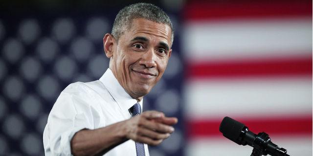 Obama pointing | ELLE UK