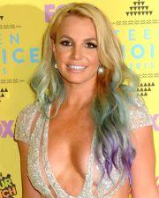 rainbow hair - celebrity colour