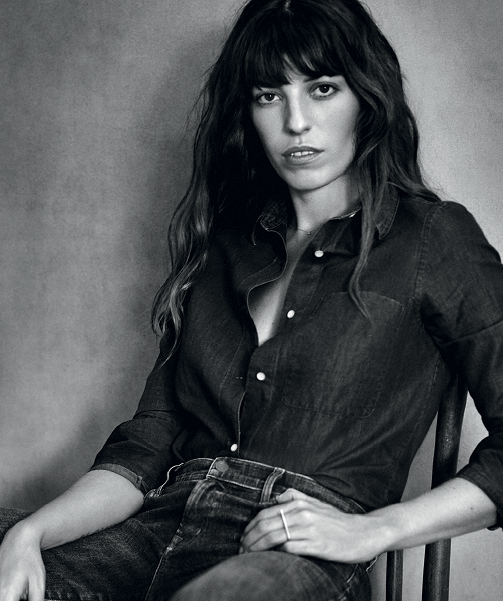 Lou Doillon On Her Lifelong LoveHate Relationship With Denim