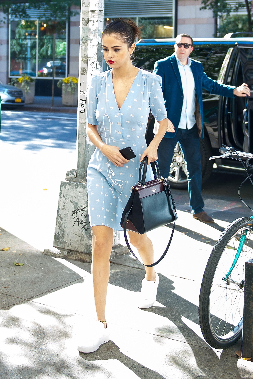 Selena Gomezs Style File
