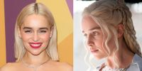 Emilia Clarke Just Went Bleached Blonde And Became A Real ...