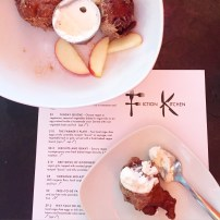 Fiction Kitchen Apple Fritters