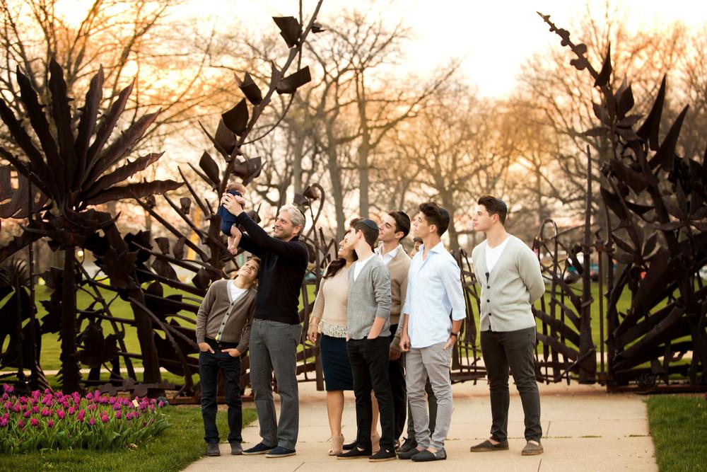 The J. Family Photography Session – Cleveland Botanical Gardens – Cleveland, Ohio