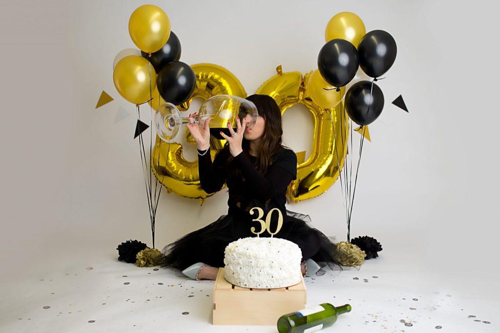Rochelle F. – 30th Birthday Celebration – Cake Smash – Cleveland, OH