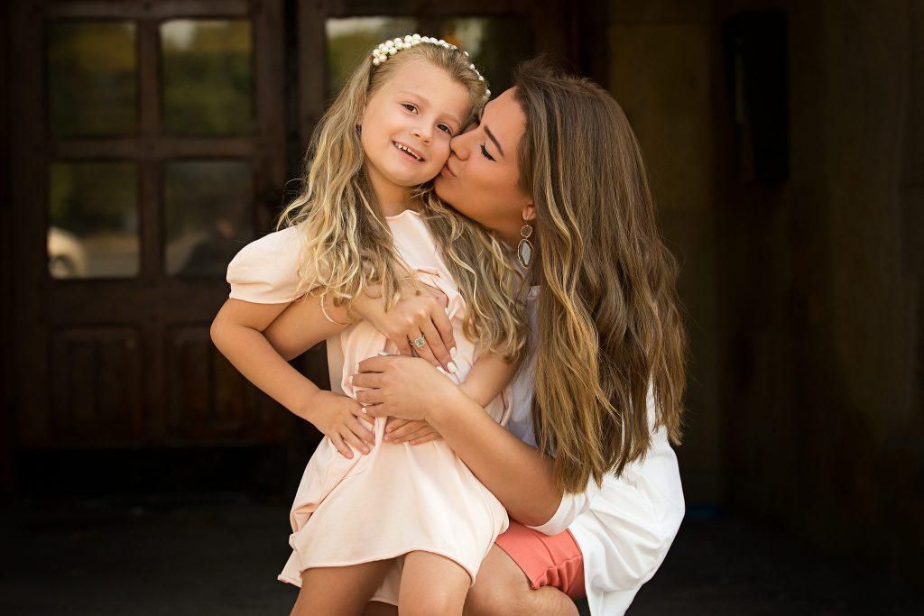 Adina and her Mom