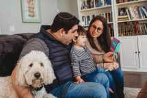 lifestyle family session in beachwood