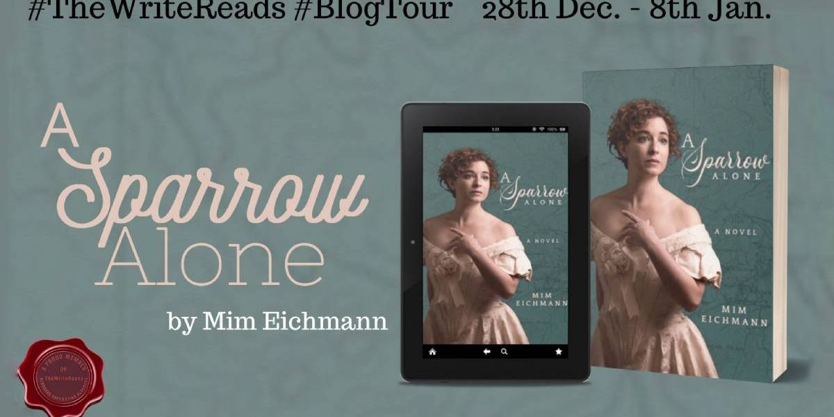 A Sparrow Alone by Mim Eichmann  | Blog Tour