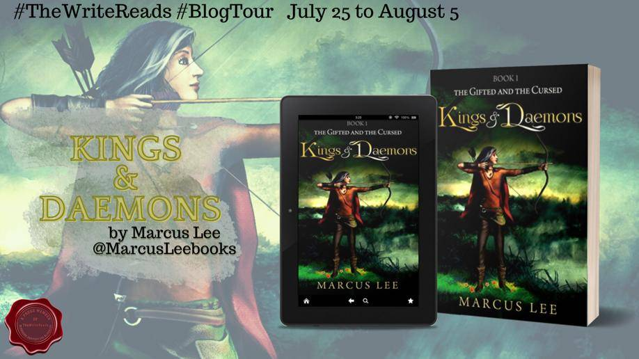 Kings and Daemons by Marcus Lee | Blog Tour