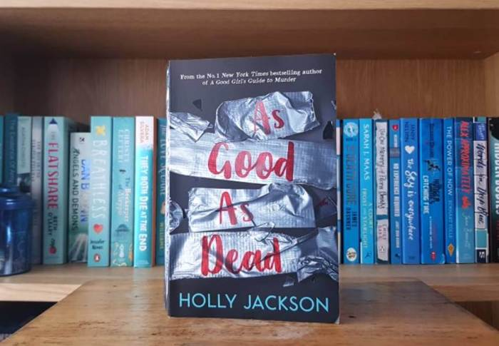 As Good As Dead by Holly Jackson | Book Review