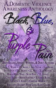 Black Blue and Purple Pain Cover