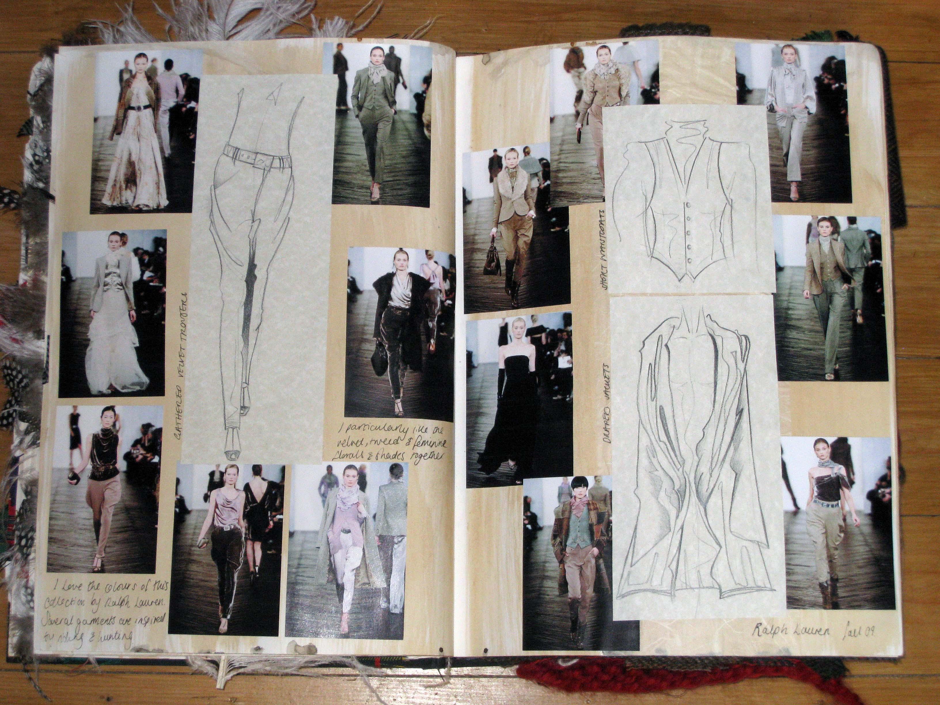 Heritage Sketchbook Ellie Mountfort's Fashion Blog