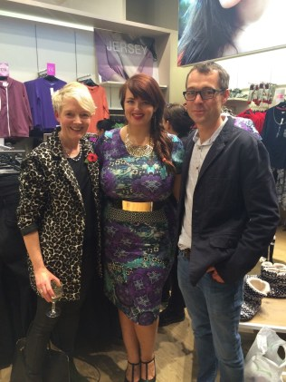 My parents with the lovely blogger George of fullerfigurebust
