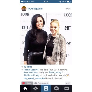 Look Magazines instagram of Eve and I