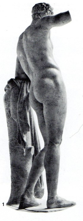 Praxiteles (1st half of 4th century BC): Hermes (or copy?). Paros marble. About 350-330 BC. Olympia Museum. P.34