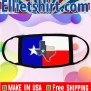 Texas State Flag Face Mask Where To Buy Ellietshirt Shop