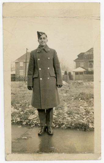 "Lawrence ""Duke"" Abelson, an RCAF navigator, from Ottawa."