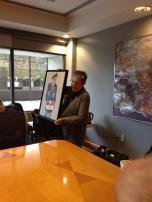 "Gerre Virsunen unveils her ""Portrait of a Patriot"""