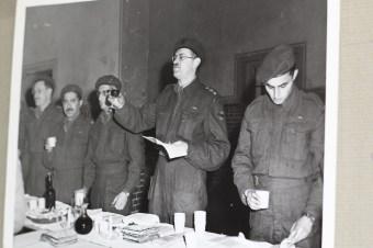 Jewish soldiers passover