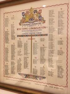 Scroll of Honour