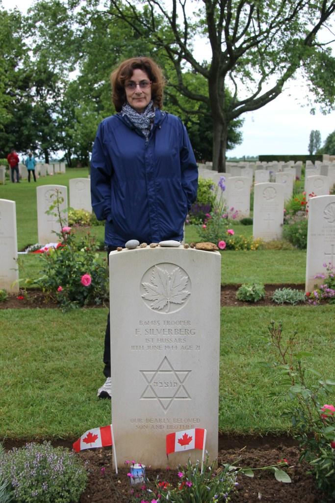 Jewish military grave