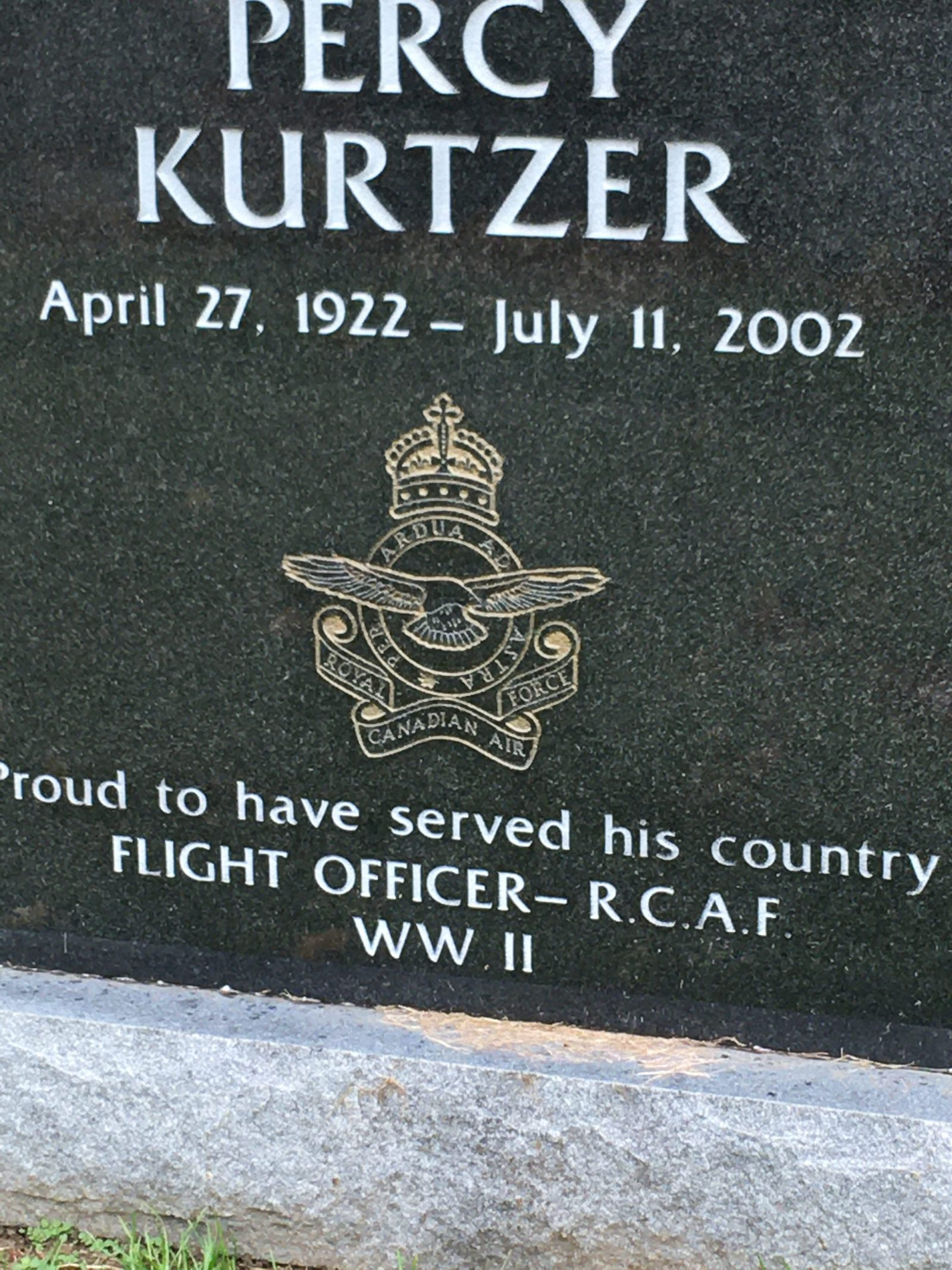 RACF veteran grave Toronto