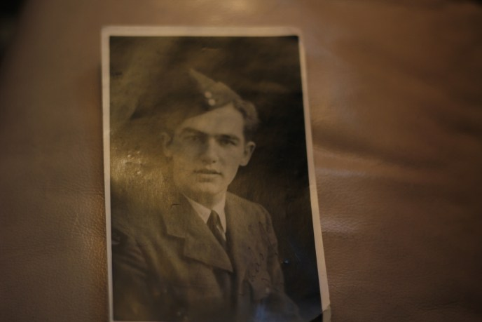 george nashen in uniform WWII