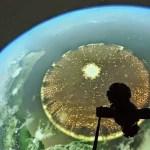 Καταρρίπτεται.Φωτογραφήθηκε από το Διεθνή Διαστημικό Σταθμό « τεράστιο αντικείμενο» με διάμετρο 5000 km!