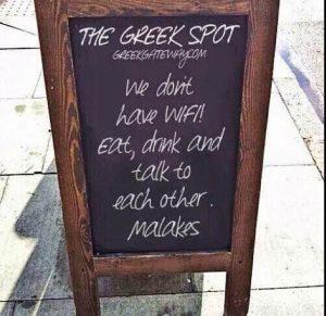 Δείτε την φωτογραφία Ελληνικού εστιατορίου στις ΗΠΑ που έχει κάνει το γύρο του διαδικτύου