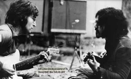 Lennon with Friend