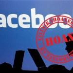 Καταρρίπτεται -Το κείμενο περί προστασίας 'προσωπικών πληροφοριών' στο Facebook.