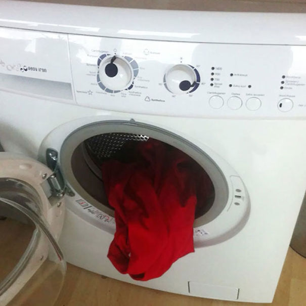 τρελάθηκε το πλυντήριο