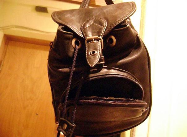 Αυτή η σακούλα φαίνεται λίγο αλλόκοτη