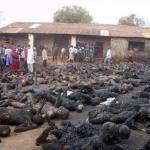 Καταρρίπτεται – Πάνω από 80 απανθρακωμένα παιδιά από επίθεση των Ισλαμιστών της Μπόκο Χαράμ σε σχολείο.