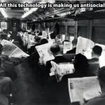 Τα κινητά κάνουν τη νεολαία αντικοινωνική!