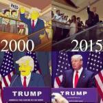 Οι Simpsons δεν προέβλεψαν την εκλογή του Τραμπ.