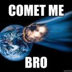 Καμία επικείμενη καταστροφή από τον μπλε κομήτη, αλλά αυτό το ξέρετε ήδη.