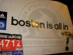 Boston Marathon - Poster
