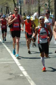 Boston Marathon - Running