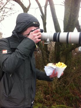As you can see birders have thier priorities