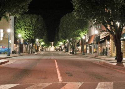 Downtown LED Street Lights