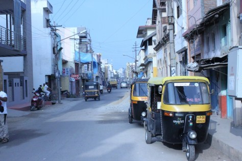 Mysore city Streets