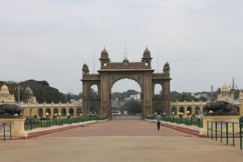 Mysore Palance Entrance