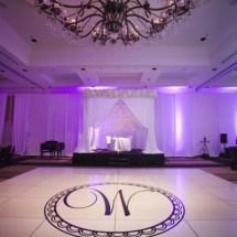 custom dance floor, nashville wedding designer
