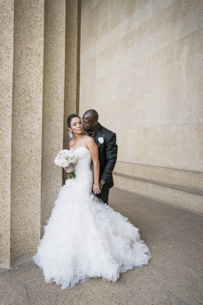 nfl wedding, bride and groom, nashville wedding